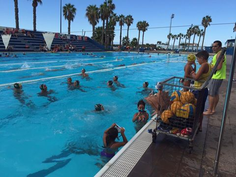 Waterpolo en C.N. Martianez