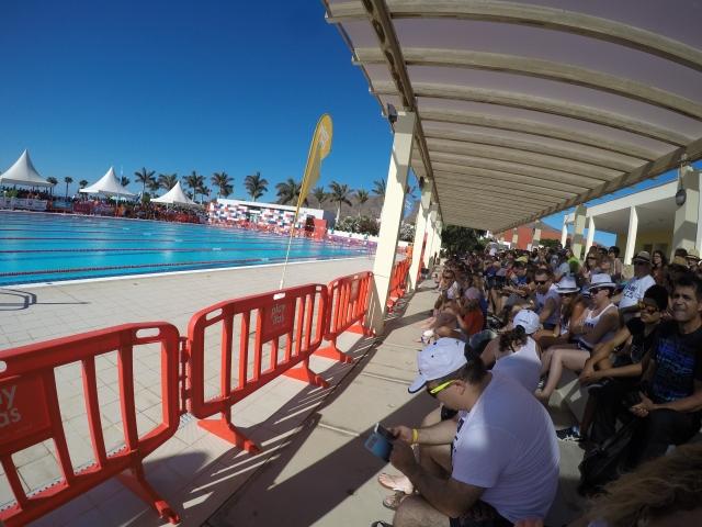 Imagen de la afición natación