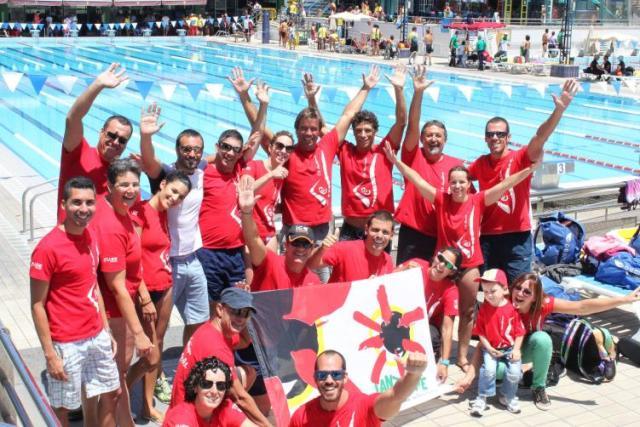 imagen miembros del club natación Nonadamos