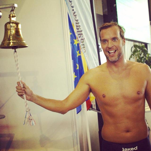 Ciro Gutierrez . Record España - Natación Master