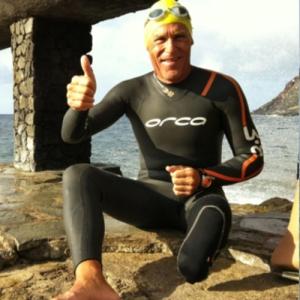 natación Carmelo Santana